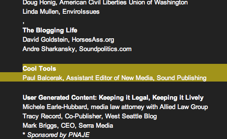 You know, if there were more than one person presenting with me, that title would be quite the oxymoron.